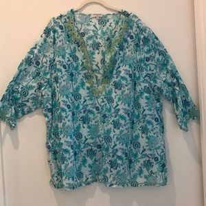 Plus size summer Tunic